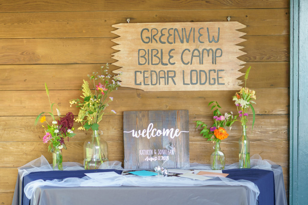 Weddings And Receptions Greenview Bible Camp